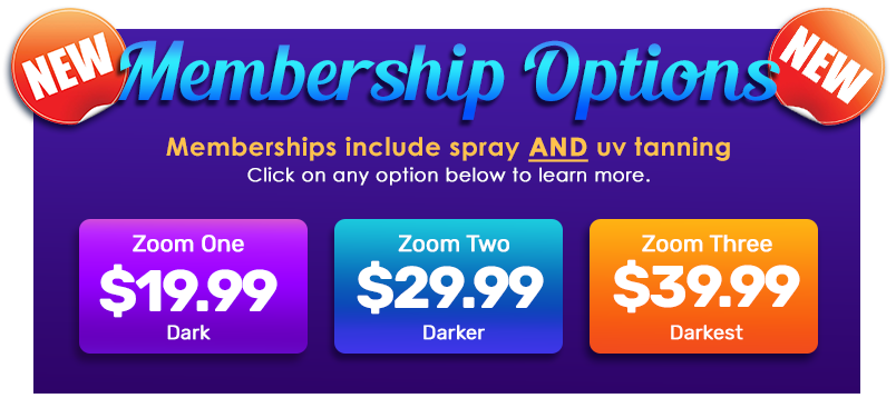 Affordable Spray and UV tanning rates
