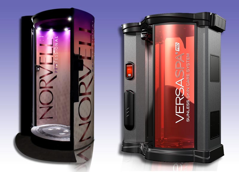 Zoom Tan has private, comfortable and clean spray tanning rooms with norvells and versa pros